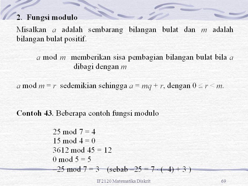 IF2120 Matematika Diskrit69