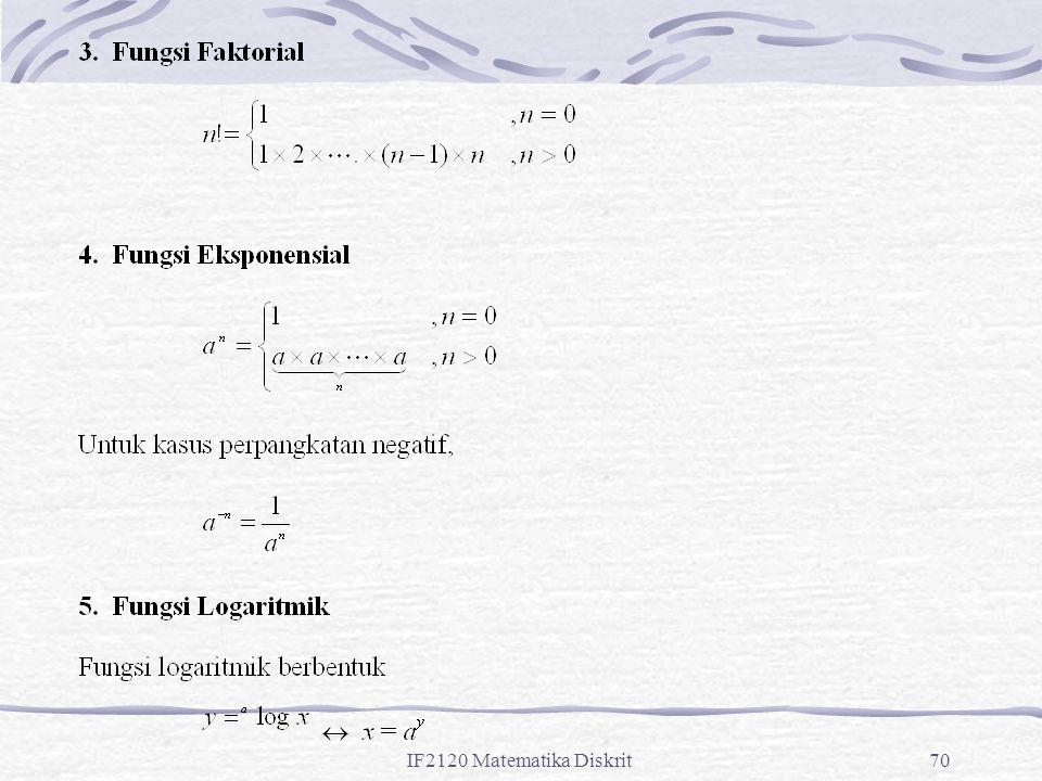 IF2120 Matematika Diskrit70