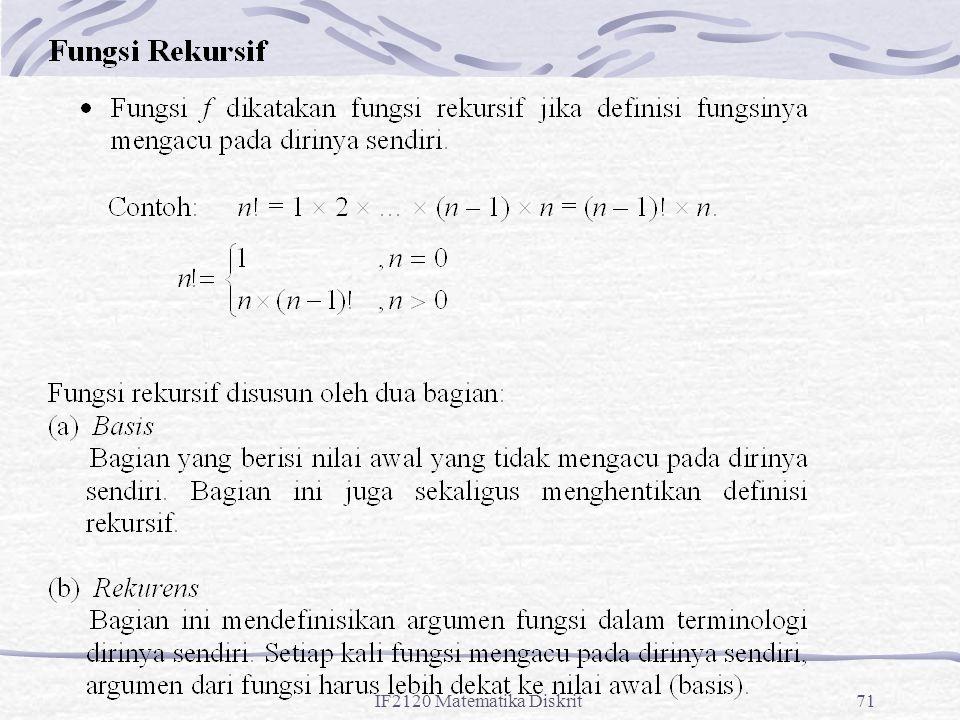 IF2120 Matematika Diskrit71
