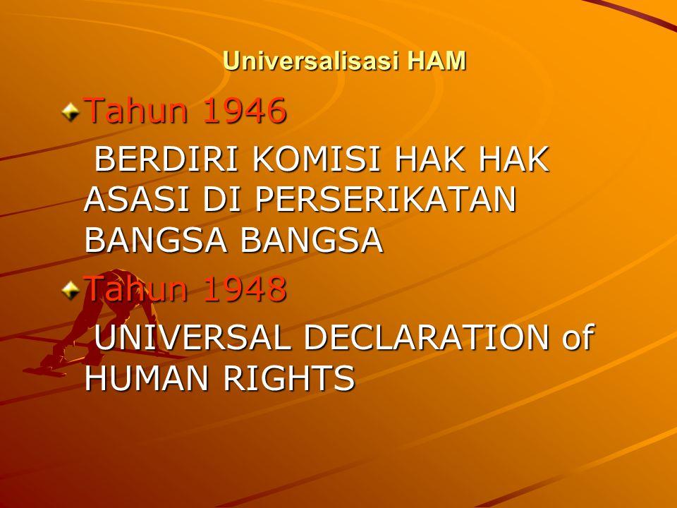 HAK EKOSOB Hak atas pekerjaan Hak untuk membentuk serikat sekerja Hak atas jaminan hari tua (pensiun) Hak atas tingkat kehidupan yang layak bagi dirin