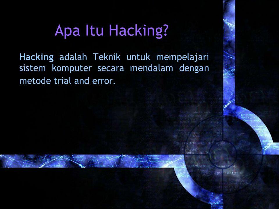Apa Itu Hacking.