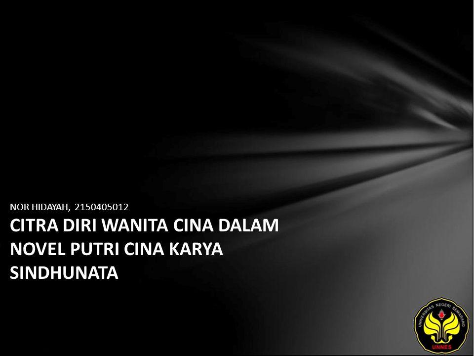 Identitas Mahasiswa - NAMA : NOR HIDAYAH - NIM : 2150405012 - PRODI : Sastra Indonesia - JURUSAN : Bahasa & Sastra Indonesia - FAKULTAS : Bahasa dan Seni - EMAIL : newnunk pada domain yahoo.com - PEMBIMBING 1 : Dr.