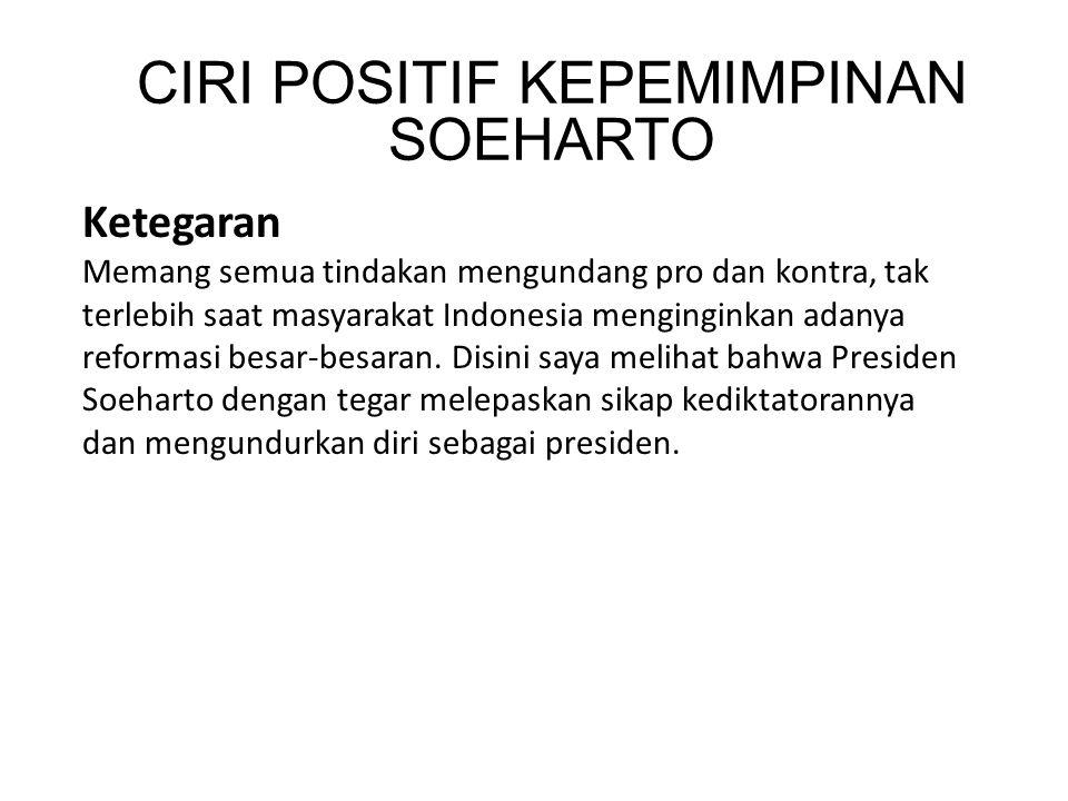 Ketegaran Memang semua tindakan mengundang pro dan kontra, tak terlebih saat masyarakat Indonesia menginginkan adanya reformasi besar-besaran.