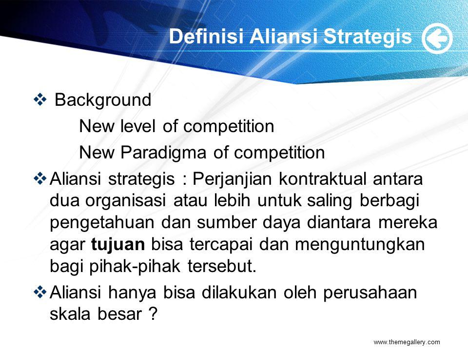 Strategi Go it Alone dan Strategi Octopus  Strategi Go it Alone merupakan perspektif tradisional : perusahaan secara individual bersaing dengan perusahaan lain.