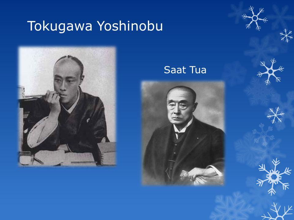 Tokugawa Yoshinobu Saat MudaSaat Tua