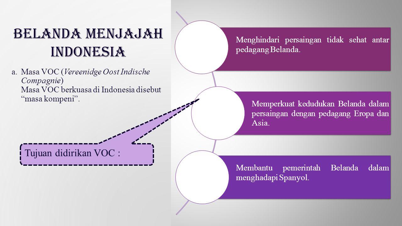 Monopoli perdagangan di daerah antara Tanjung Harapan dan selat Magelhaens, termasuk Indonesia.