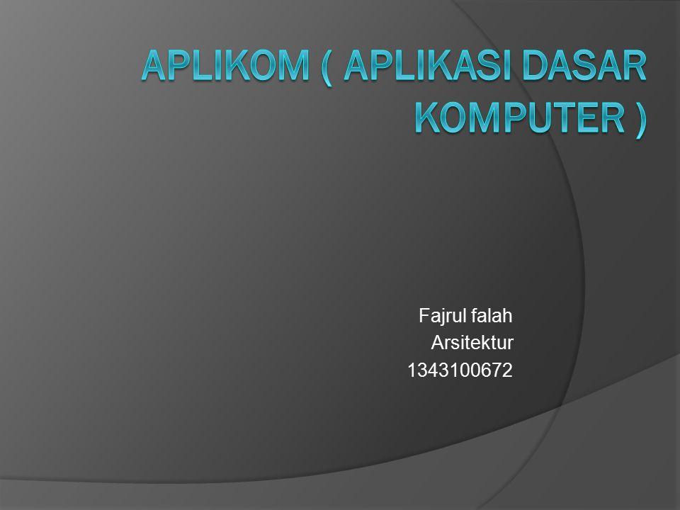 Fajrul falah Arsitektur 1343100672