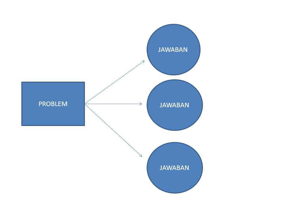 PROBLEM JAWABAN
