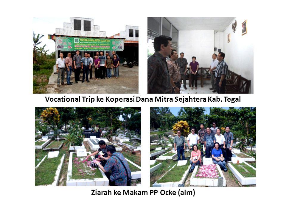 Vocational Trip ke Koperasi Dana Mitra Sejahtera Kab. Tegal Ziarah ke Makam PP Ocke (alm)