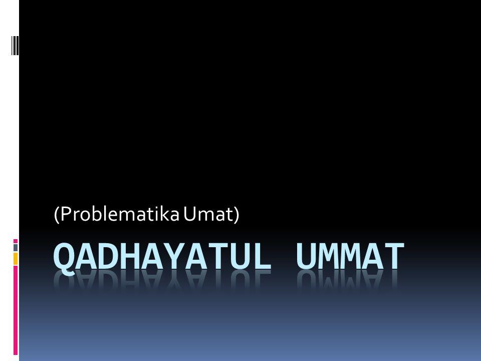 Potensi Umat Islam (2) 4.Jaminan kemenangan dari Allah.