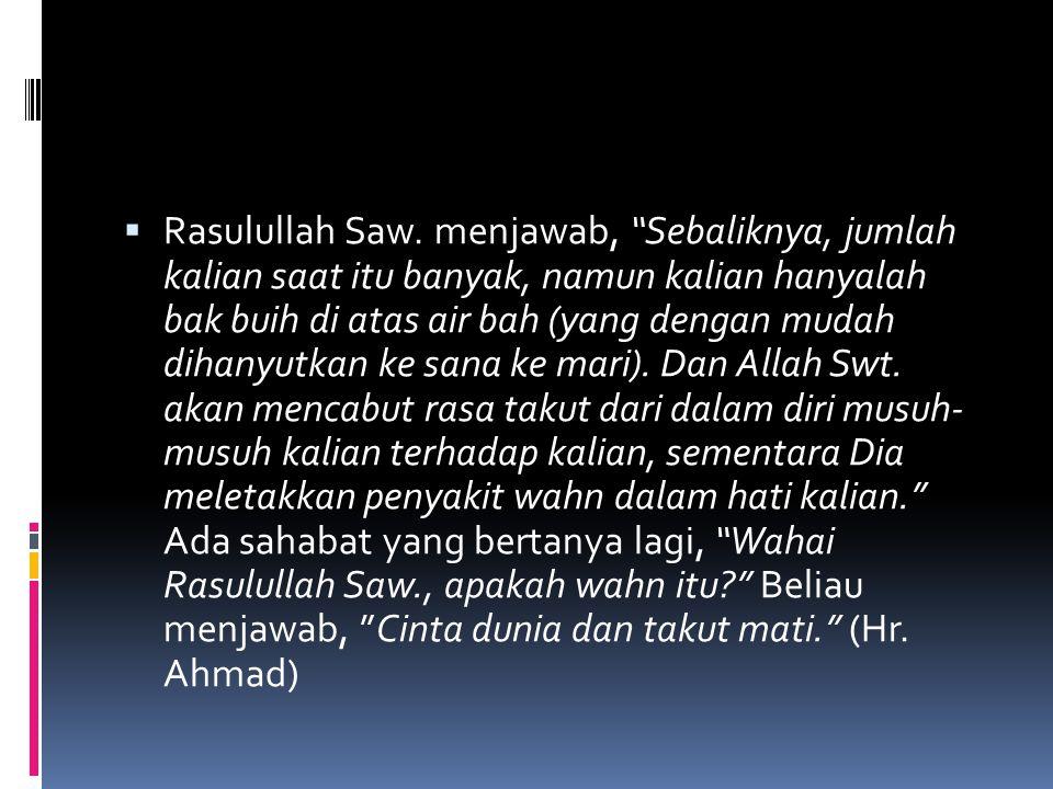 Faktor Internal 1.Jauhnya umat Islam dari AlQur'an dan As- Sunnah, 2.