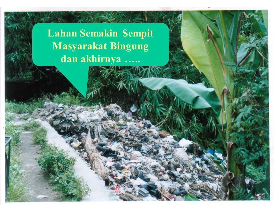 """""""Masyarakat Berpola Pikir Membuang"""" Sungai sebagai Terminal Sampah Sampah Menimbulkan Musibah"""