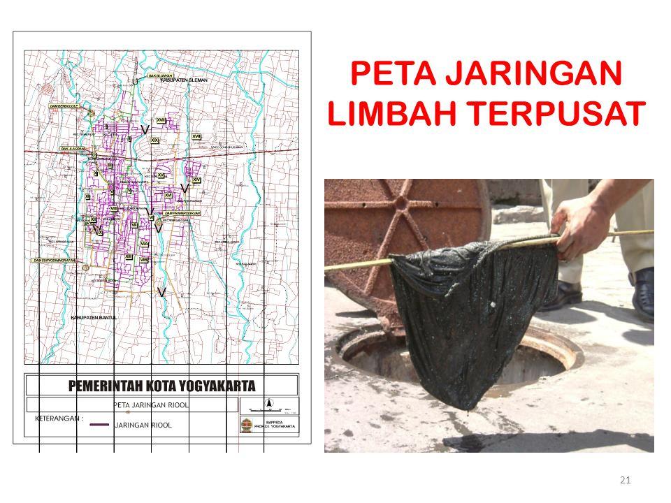 PETA JARINGAN LIMBAH TERPUSAT 21