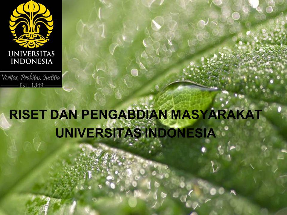 Powerpoint Templates Page 1 RISET DAN PENGABDIAN MASYARAKAT UNIVERSITAS INDONESIA