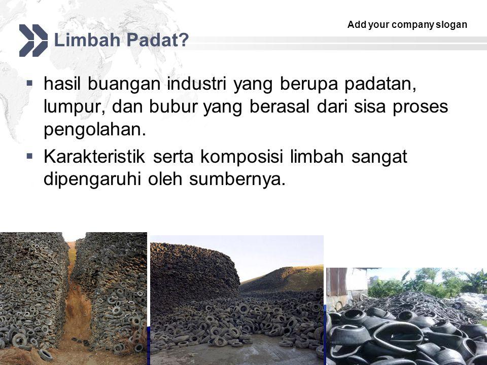 Add your company slogan LOGO Limbah Padat.