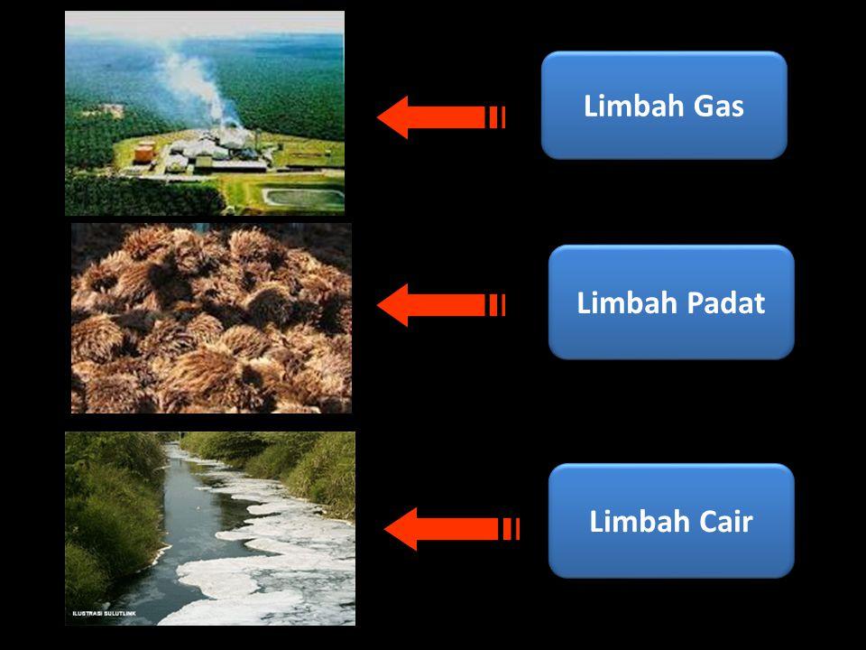 Limbah Gas Limbah Padat Limbah Cair
