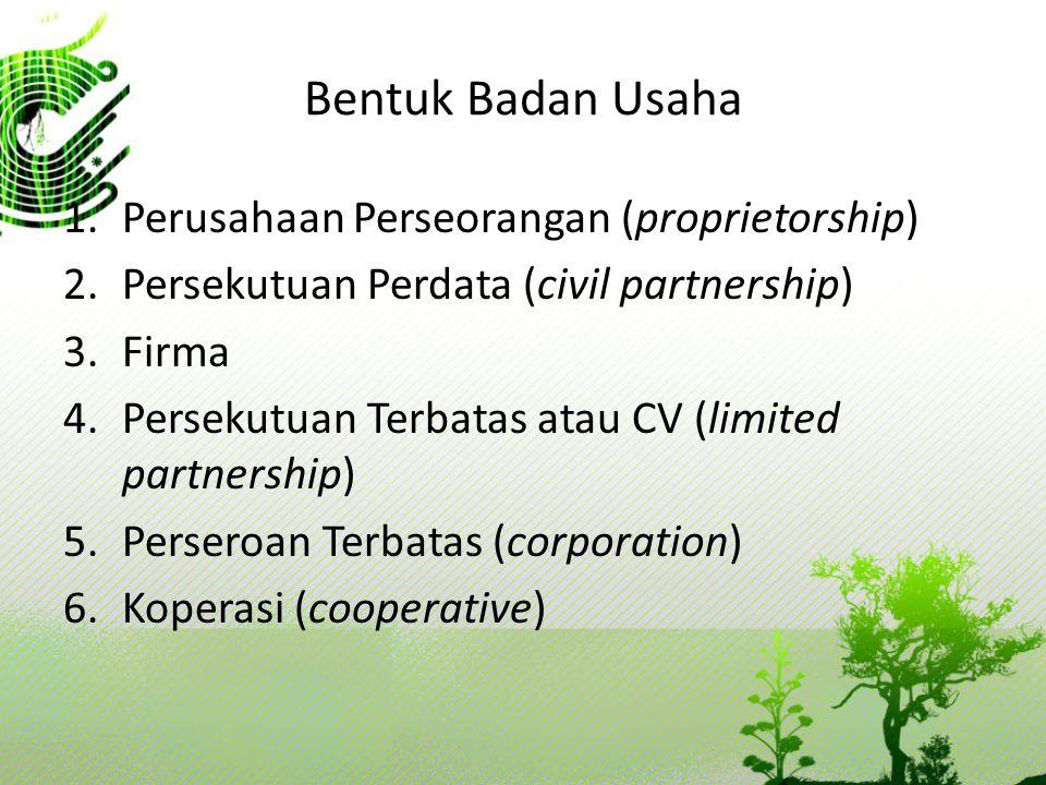 PERSEKUTUAN Persekutuan merupakan gabungan dua orang atau lebih yang memiliki dan menjalankan usaha untuk mendapatkan laba.