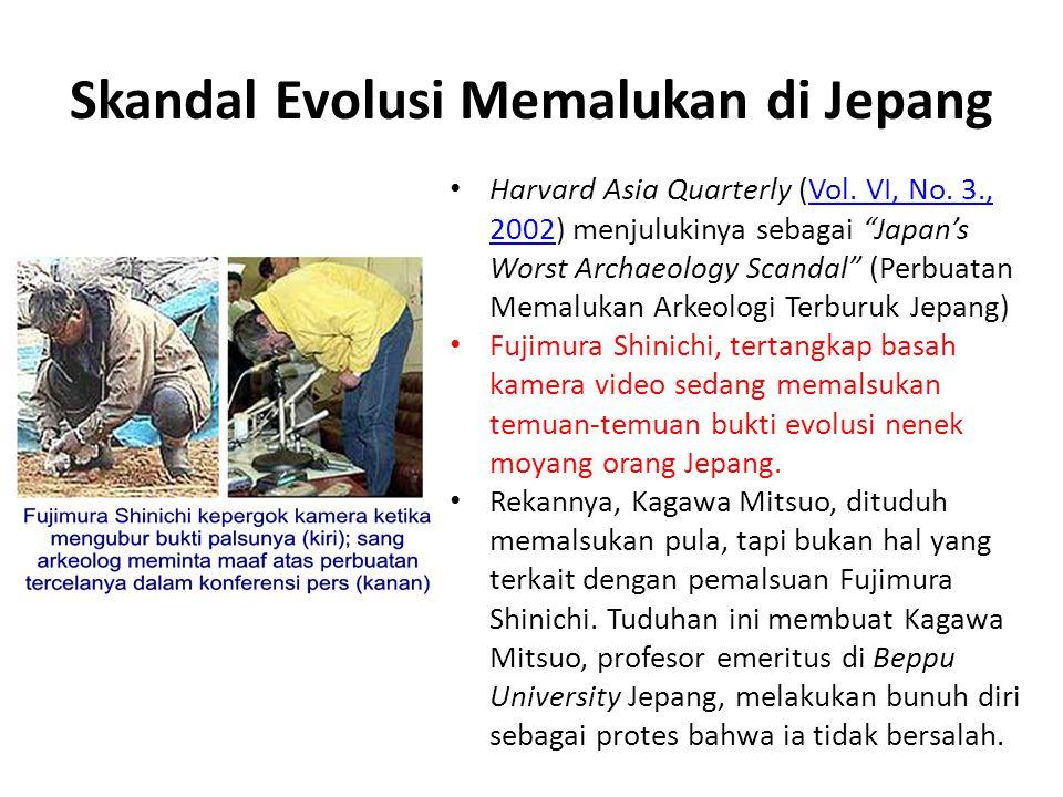 Skandal Evolusi Memalukan di Jepang Harvard Asia Quarterly (Vol.