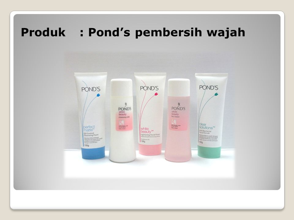 Produk : Pond's pembersih wajah
