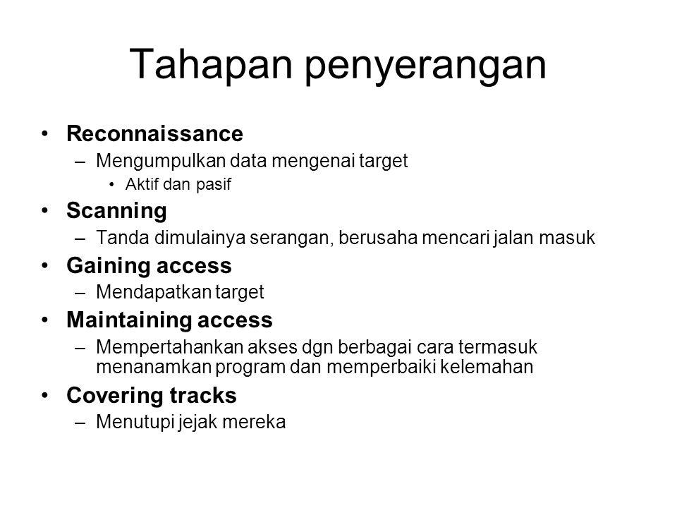 Kelemahan security pada aplikasi web Broken Access Control Pada aplikasi yang membedakan akses dengan menggunakan perbedaan ID, hanya menggunakan satu halaman untuk memeriksa user.