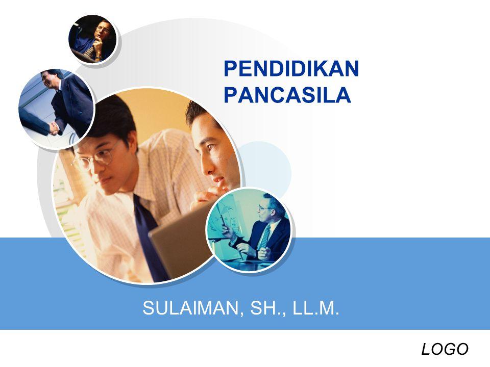 LOGO PENDIDIKAN PANCASILA SULAIMAN, SH., LL.M.