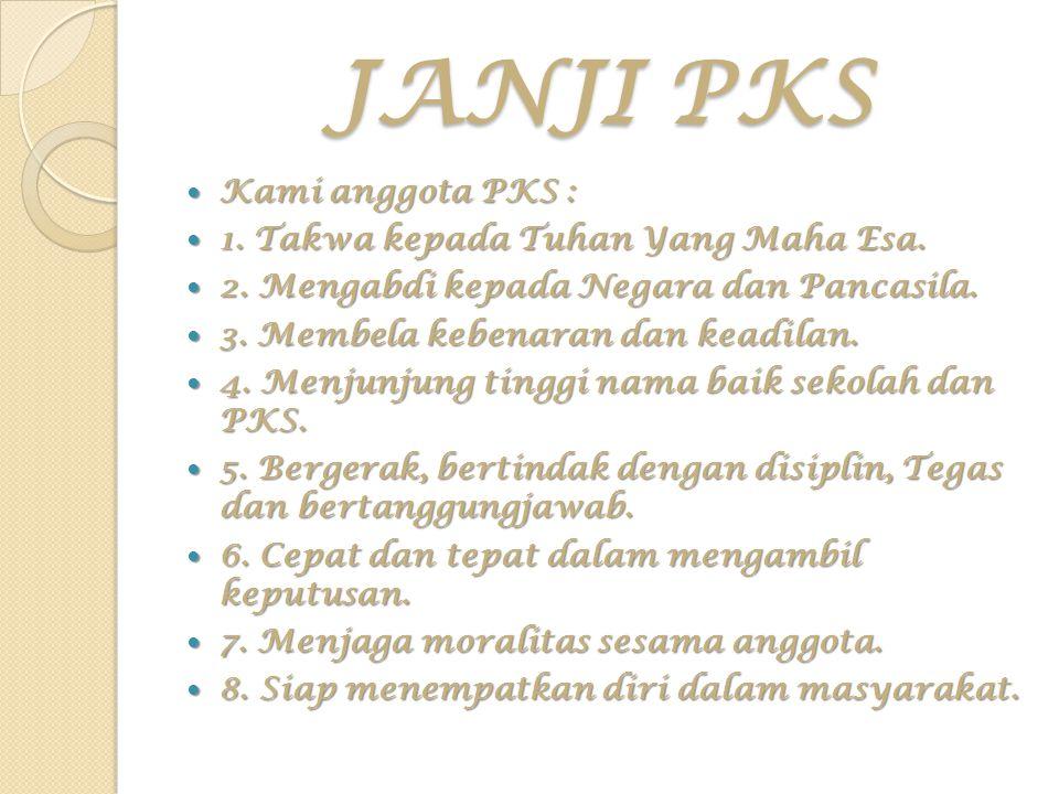 MANFAAT PKS PATROLI KEAMANAN SEKOLAH Menjadi anggota PKS adalah sangat bermanfaat khususnya bagi diri pribadi maupun bagi masyarakat pemakai jalan pada umumya.