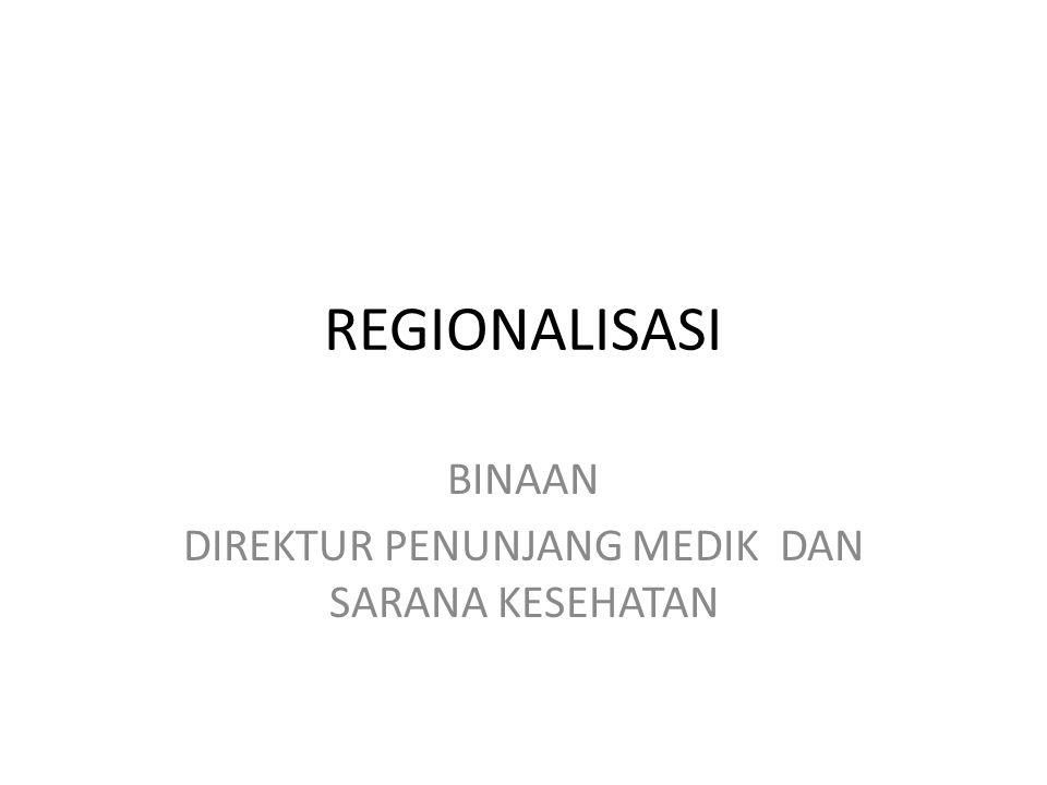 KRITERIA RS RUJUKAN NASIONAL DAN REGIONAL ( Kepmenkes HK.02.02/MENKES/390/2014 dan HK.02.02/MENKES/391/2014 NOKRITERIARS NASIONALRS REGIONAL / PROPRS KAB / KOTA 1 Penetapan peraturan Menteri KesehatanGubernurBupati / walikota 2Akses rujukan Rujukan lintas provinsi /mengampu sekurangnya 4 provinsi Rujukan lintas kabupaten /mengampu sekurangnya 4 kabupaten/ kota Rujukan lintas kecamatan 3Kelas RSA & RS PendidikanB & RS PendidikanC dan D 4AkreditasiParipurna, JCI / Kelas duniaMinimal UtamaMadya/Dasar 5Transportasi Memiliki akses darat, udara dan air min.