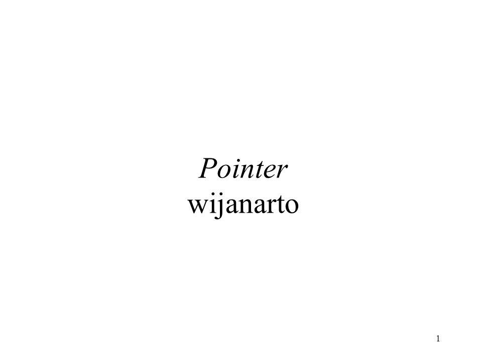 1 Pointer wijanarto
