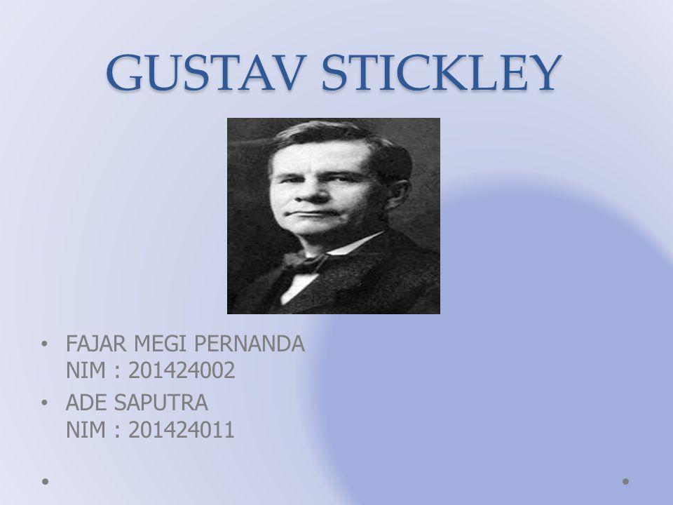 GUSTAV STICKLEY FAJAR MEGI PERNANDA NIM : 201424002 ADE SAPUTRA NIM : 201424011