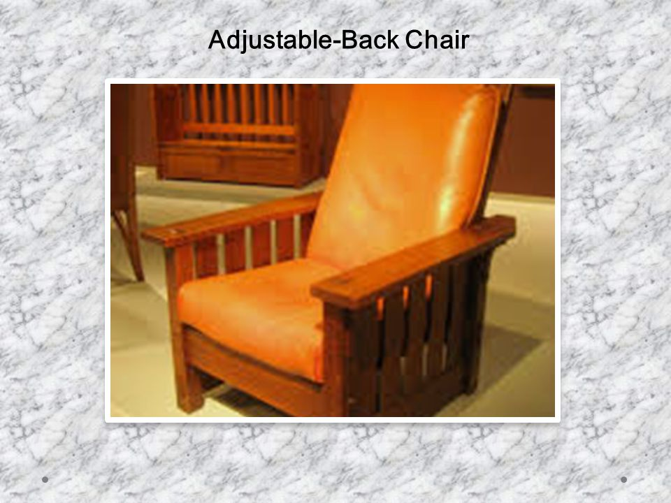 Adjustable-Back Chair