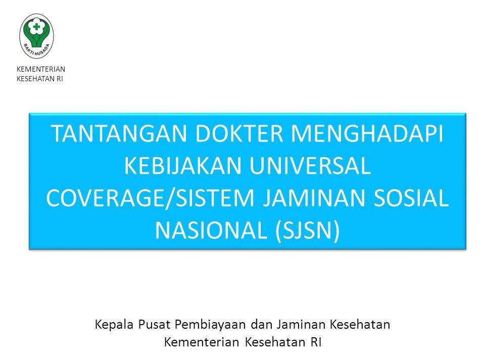 Kepemilikan Jamkes Tahun 2014 KEMENTERIAN KESEHATAN REPUBLIK INDONESIA 09/04/201512bbb