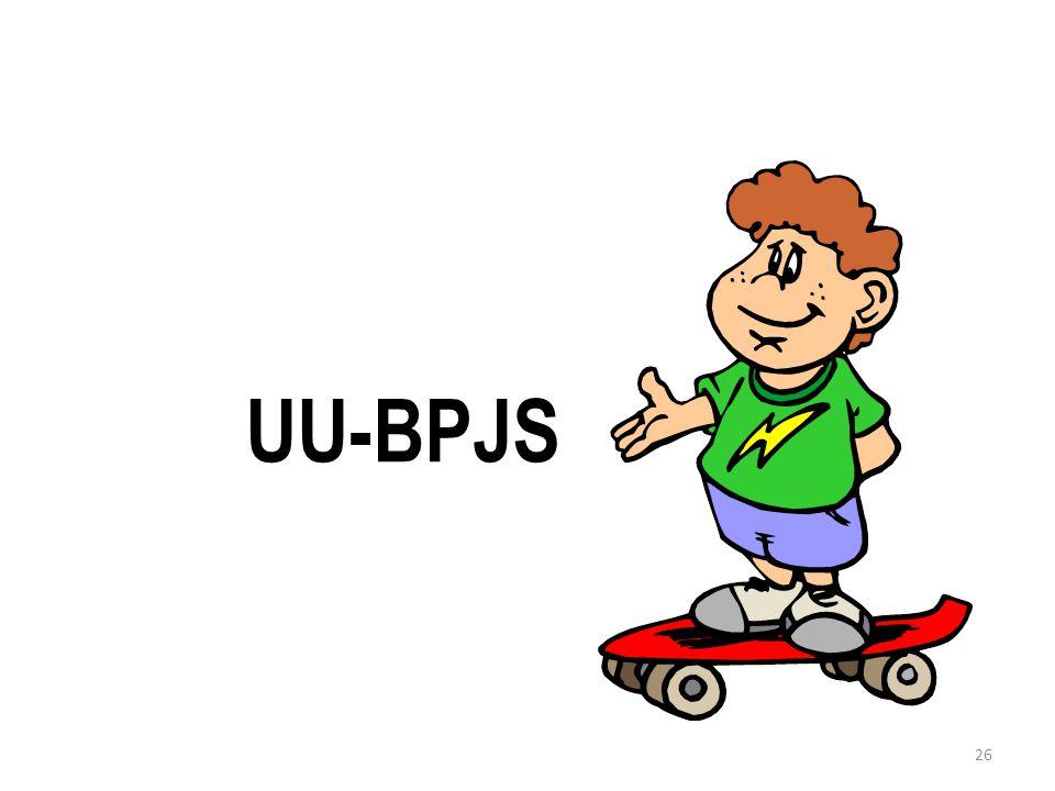 26 UU-BPJS