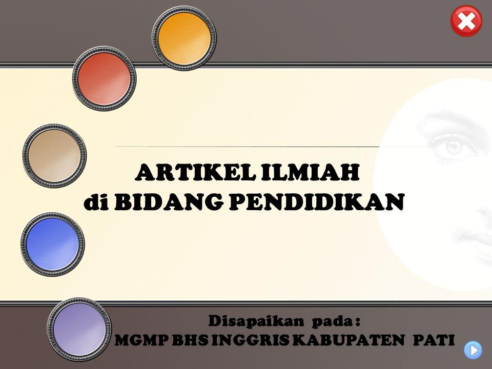 Universitas Negeri Jakarta Simpulan dan Saran (Conclusion and Suggestion) Simpulan merupakan penegasan penulis mengenai hasil penelitian dan pembahasan.