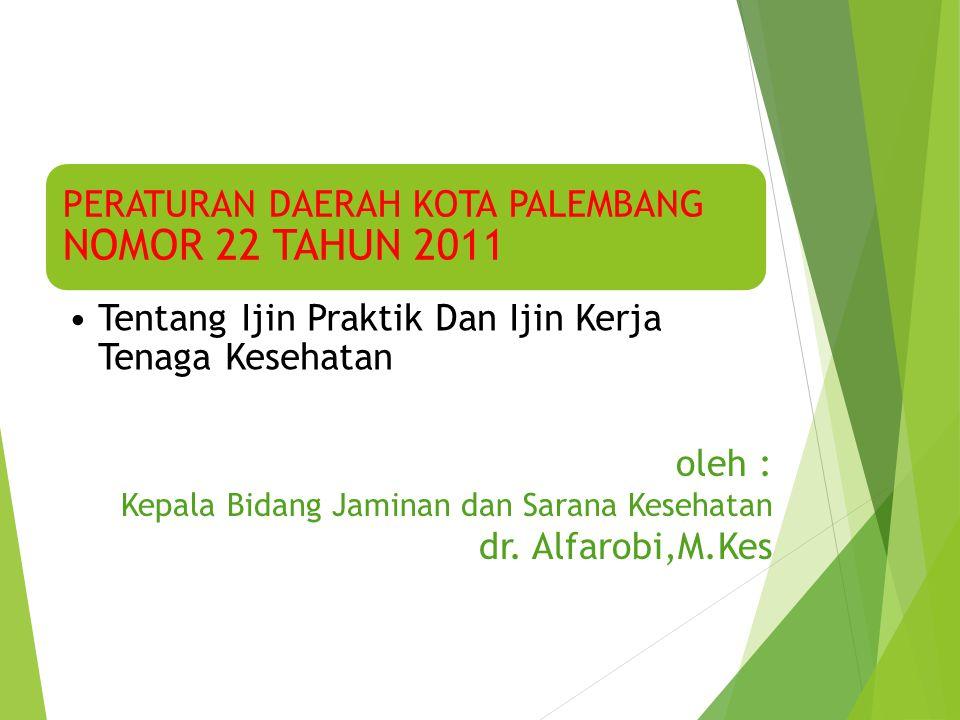 oleh : Kepala Bidang Jaminan dan Sarana Kesehatan dr.