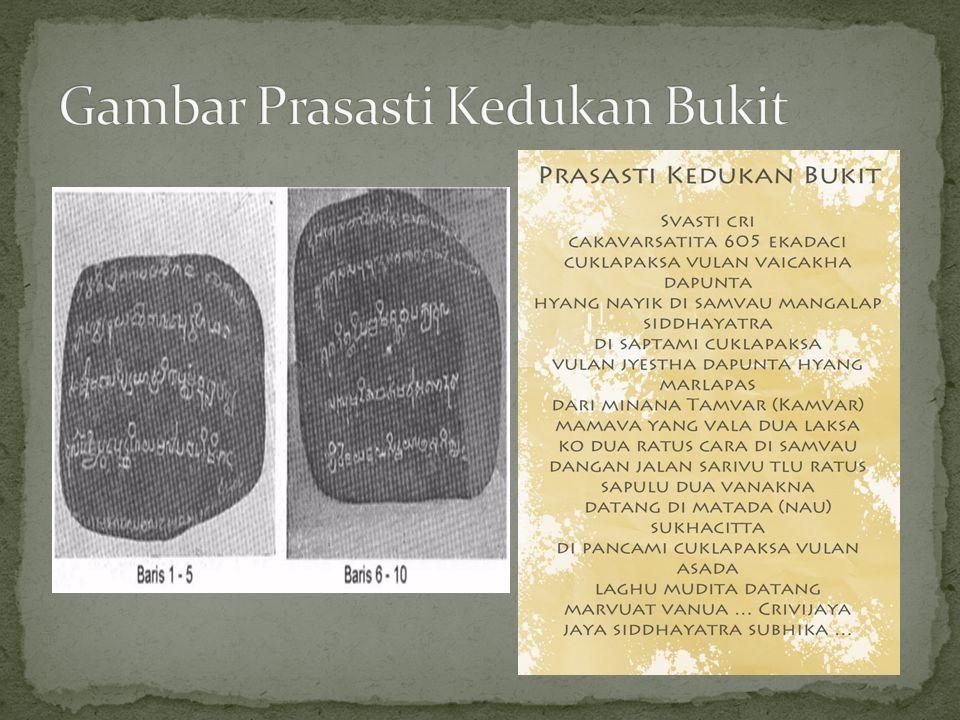 Prasasti Talang Tuo, Westenenk 1920  trdri 14 baris, 606 S.