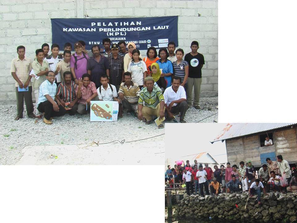 Implementasi Zonasi : Sebuah pembelajaran untuk mencapai tujuan pengelolaan kawasan Tahapan Implementasi Zonasi TN.Wakatobi 1.