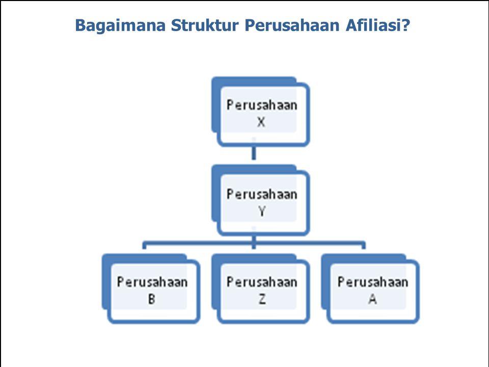 Bagaimana Struktur Perusahaan Afiliasi?