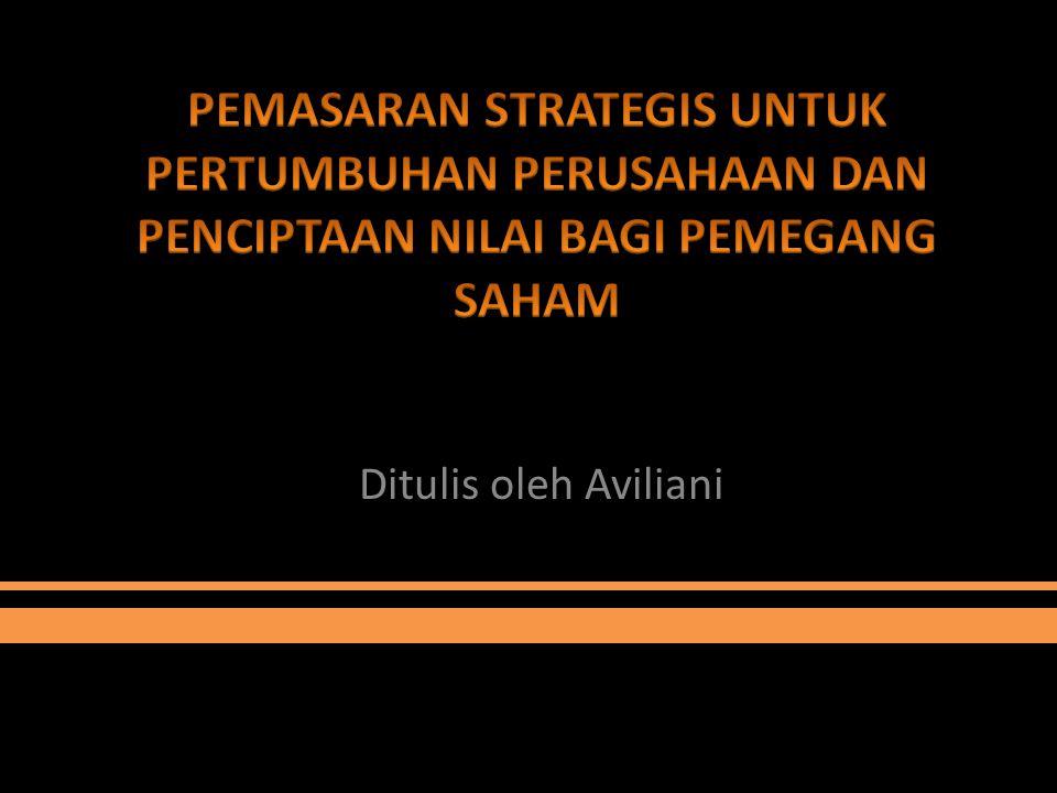 Ditulis oleh Aviliani