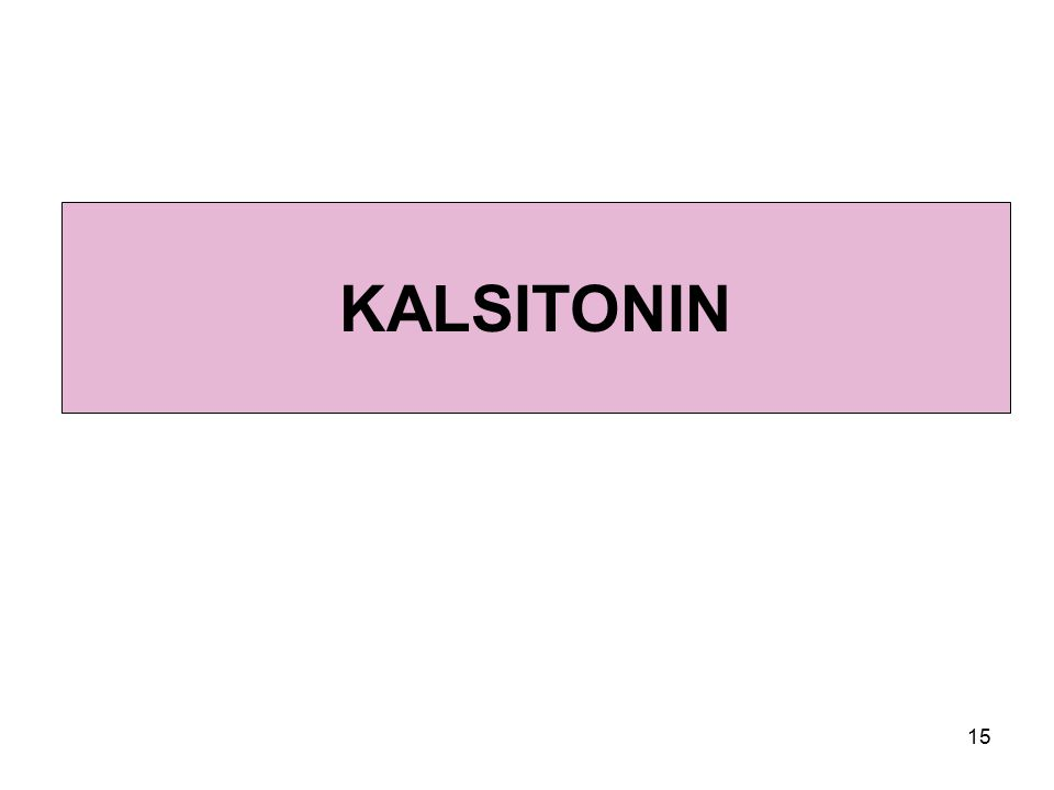 15 KALSITONIN