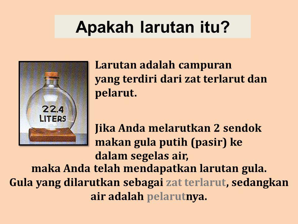 Pengamatan 2 (menguji larutan asam cuka sebanyak 20 mL) Mari kita amati dan diskusikan percobaan berikut.