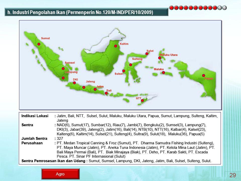 Agro h. Industri Pengolahan Ikan (Permenperin No.120/M-IND/PER/10/2009) 29