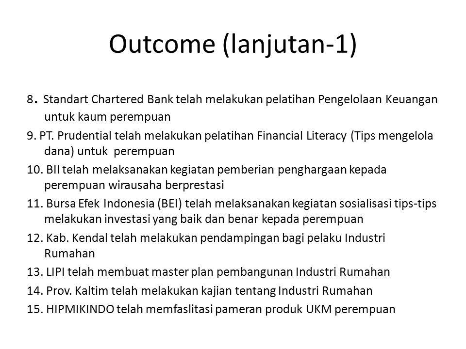 Outcome (lanjutan-1) 8.