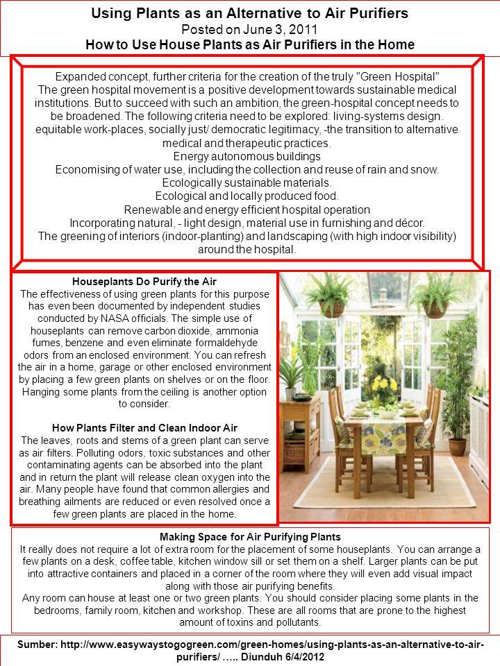 Konsep Green Architecture / Arsitektur Hijau Secara Umum Green dapat diinterpretasikan sebagai sustainable (berkelanjutan), earthfriendly (ramah lingkungan), dan high performance building (bangunan dengan performa sangat baik).