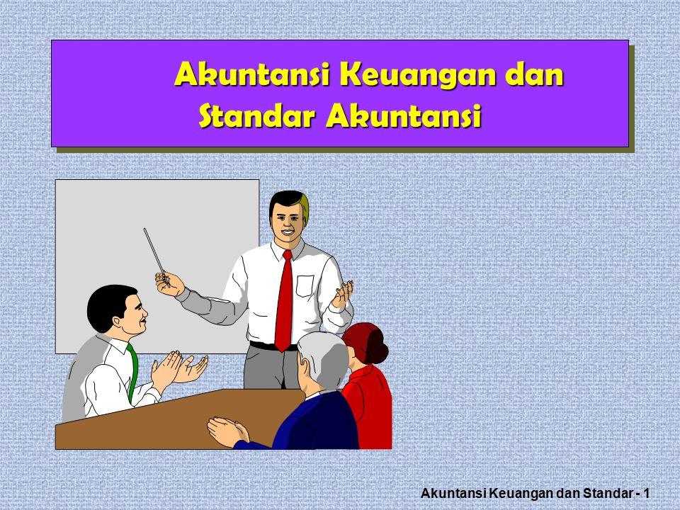 Akuntansi Keuangan dan Standar - 12 Standar ?.