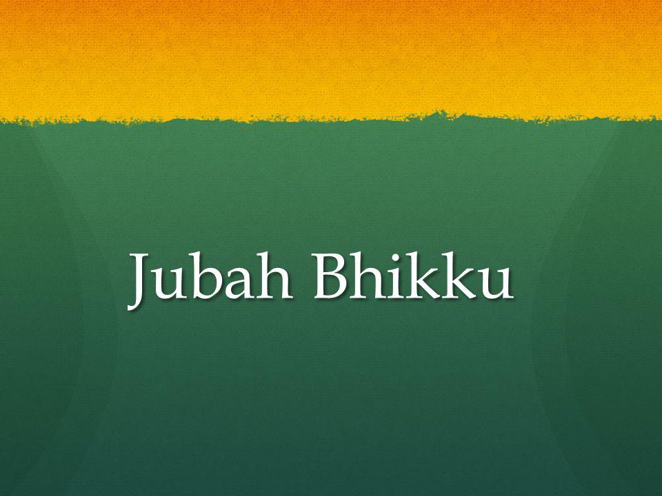 Jubah Bhikku