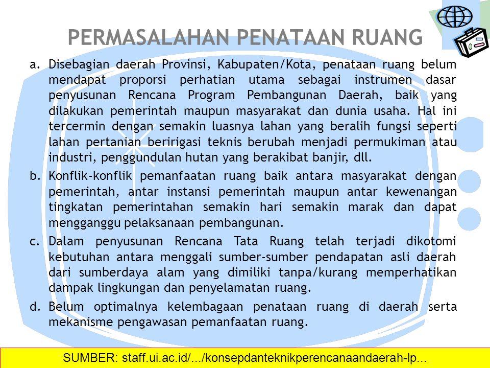 KONSEP DAN TEKNIK PERENCANAAN DAERAH Triarko Nurlambang Pusat Penelitian Geografi Terapan Universitas Indonesia SUMBER: staff.ui.ac.id/.../konsepdante