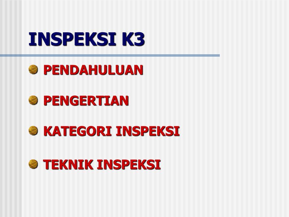 INSPEKSI K3