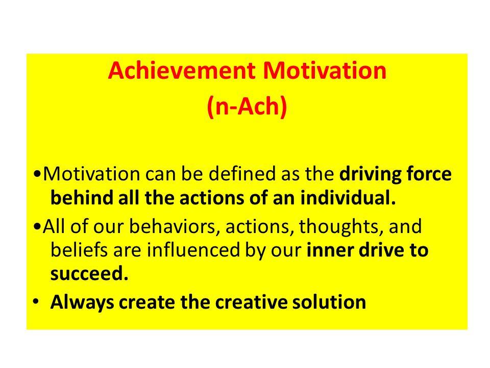 Motive Affiliation (n-Aff) Motif yang mendorong seseorang untuk menikmati kebersamaan, bergaul dengan orang lain, dan bekerjasama.