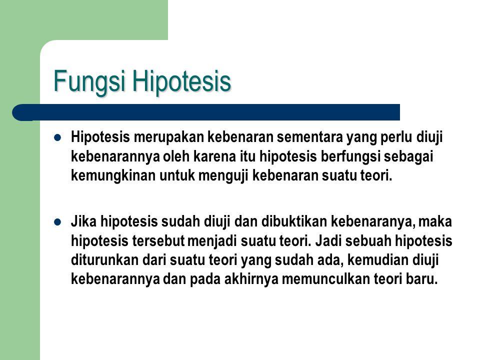 Cara Merumuskan Hipotesis Cara merumuskan Hipotesis ialah dengan tahapan sebagai berikut: rumuskan Hipotesis penelitian, Hipotesis operasional, dan Hipotesis statistik.