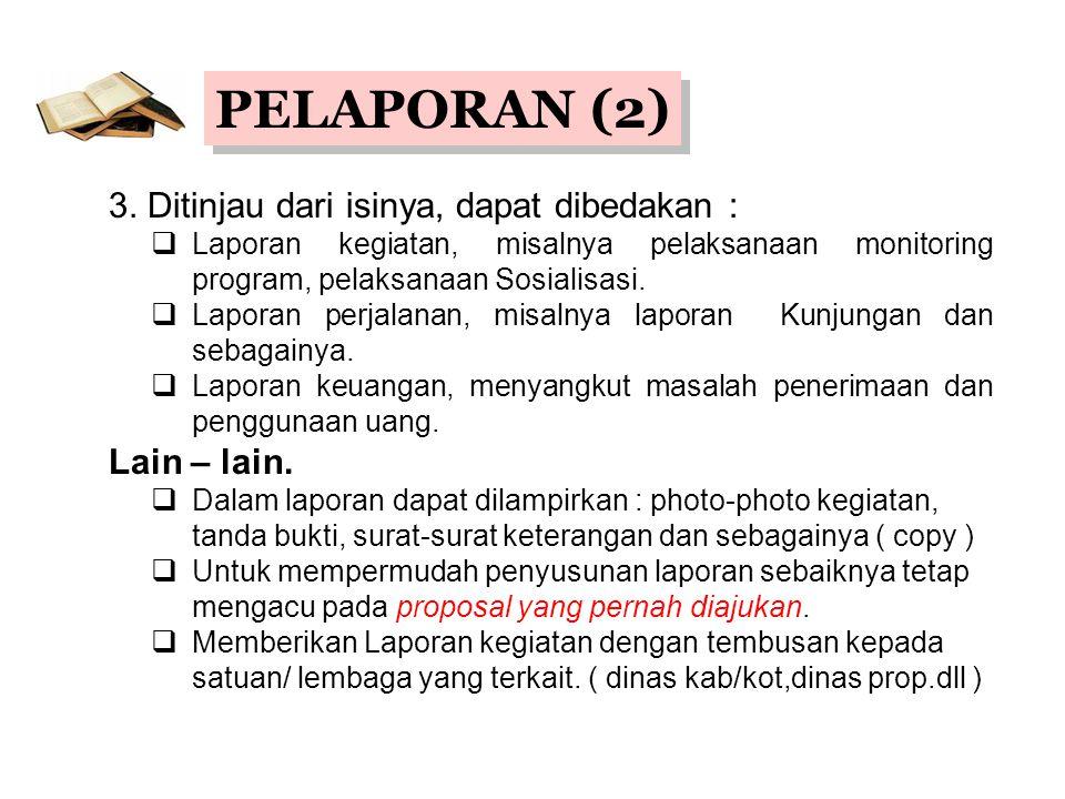 PELAPORAN (2) 3.